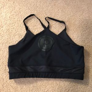 Pure Barre Black Reversible Sports Bra